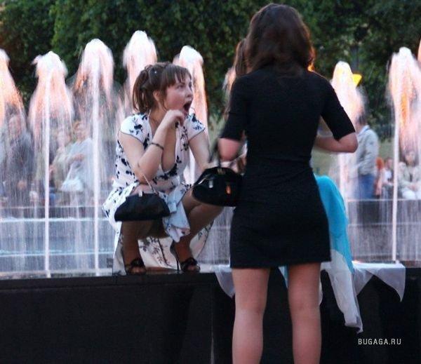 подглядываем за девушками на улице фото