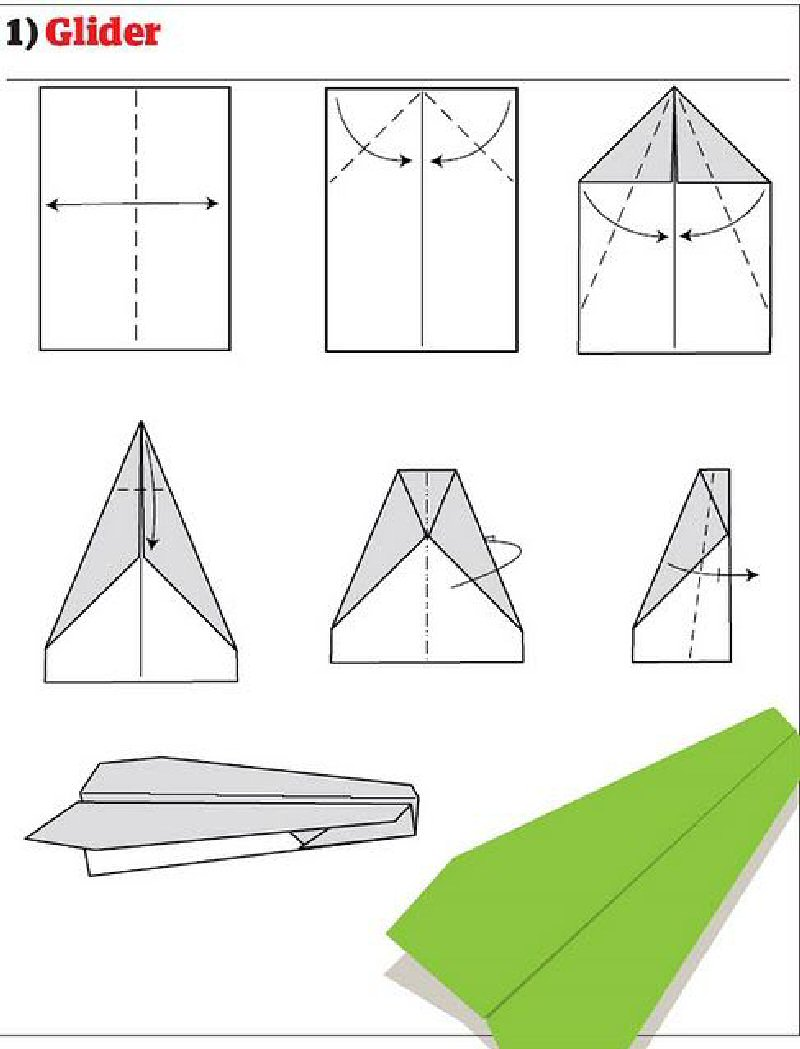 Как сделать классный самолёт из бумаги