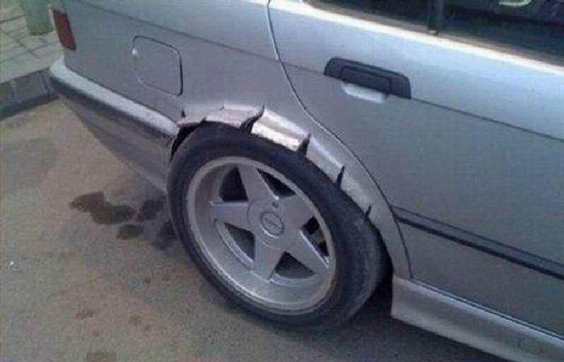 из чего сделать арки на авто фото