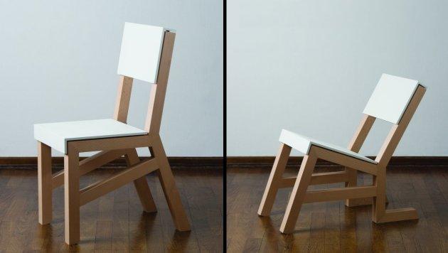 Дизайнерский стул своими руками