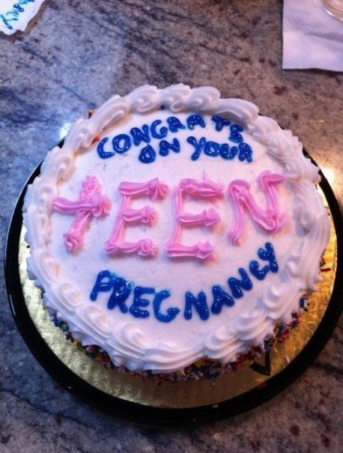 Смешное поздравление на торт