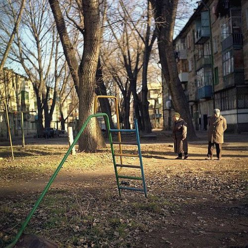 Игровые площадки для детей-психоделиков (21 фото)