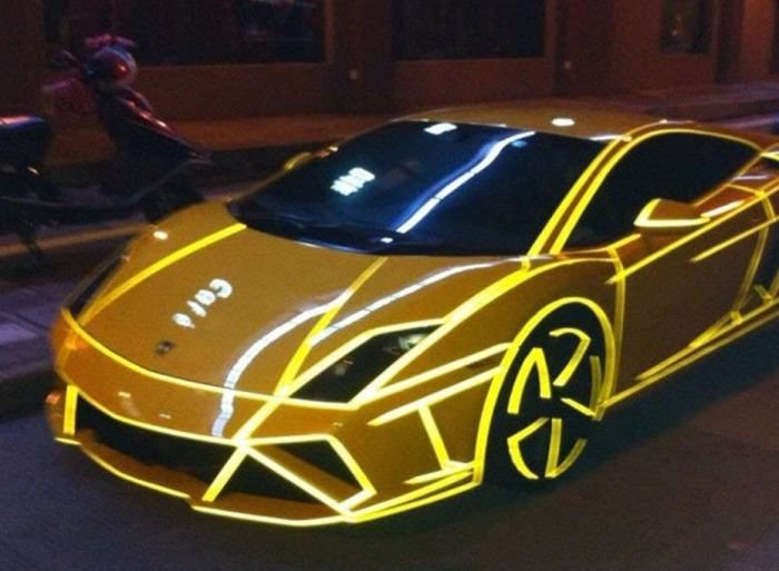 ����� LED Lamborghini � ����� (21 ���� + �����)