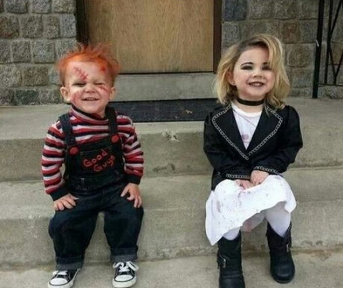 Забавные и прикольные костюмы для детей (16 фото)