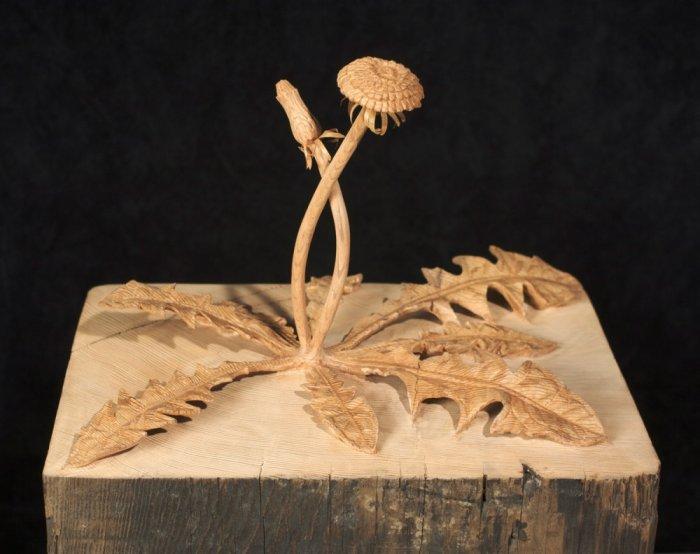 Реалистичные деревянные скульптуры Дэна Уэбба (10 фото)