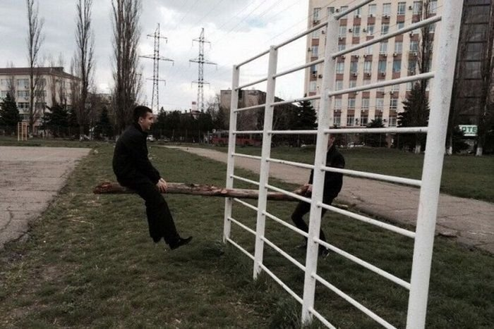 Российская жизнь в прикольных картинках (26 фото)