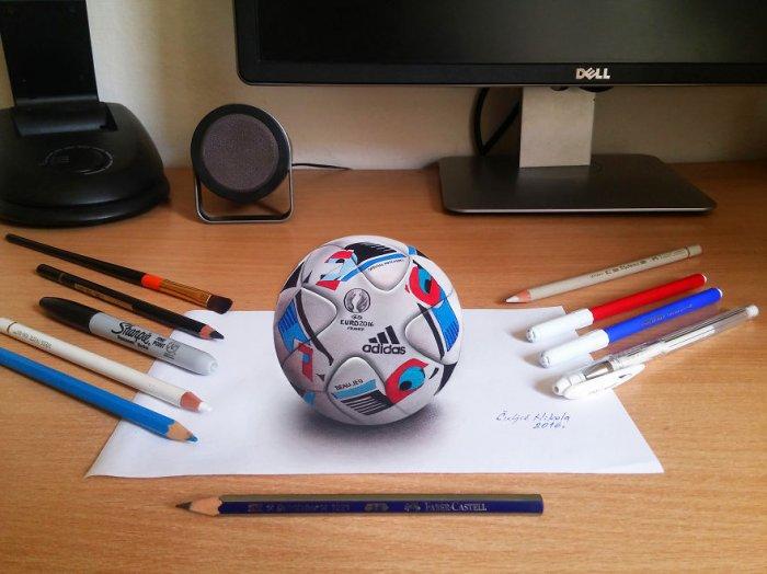 3D-рисунки художника-самоучки Николы Чулича (14 фото)