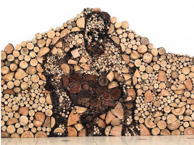 Креативная укладка дров (23 фото)