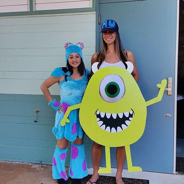 Прикольные костюмы на Хэллоуин для беременных (25 фото)